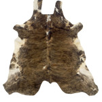COWHIDE BROWN AND WHITE