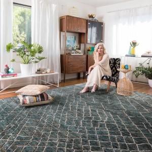 Désigner rug from tapis Essgo carpets.